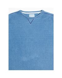 Billy Reid - Blue Thermo Crew for Men - Lyst