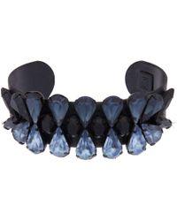 DANNIJO - Black Amalfi Cuff Bracelet - Lyst