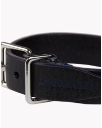 DSquared² - Black Contrast Armlet for Men - Lyst
