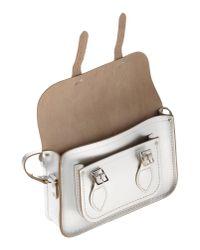 Cambridge Satchel Company - Metallic Cross-body Bag - Lyst