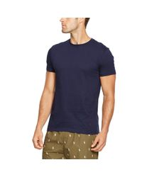 Polo Ralph Lauren | Gray Cotton Crewneck T-shirt 3-pack for Men | Lyst