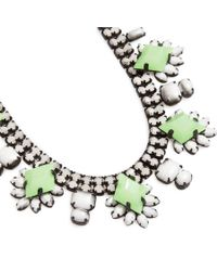 DANNIJO | Green Vonna Necklace | Lyst