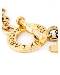 Guy Laroche | Metallic Sea Charms Bracelet | Lyst