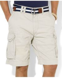Polo Ralph Lauren - Natural Core Classic Gellar Cargos for Men - Lyst