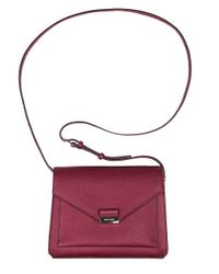 Cole Haan | Purple Amalia Leather Crossbody | Lyst