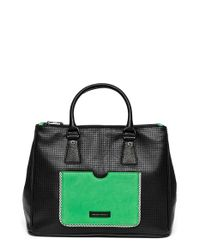 hayden-harnett | Black 'busy Day' Leather Satchel | Lyst
