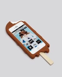 Moschino | Brown Ice Cream Silicon Iphone 5 Case | Lyst
