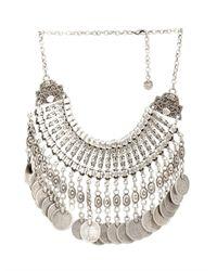 Muzungu Sisters | Metallic Berber Coin Necklace | Lyst