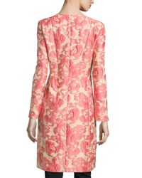 Lafayette 148 New York - Multicolor Roland Embroidered Floral Jacket - Lyst