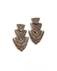 Samantha Wills - Brown Autumn Adventure Earrings - Lyst