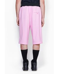 3.1 Phillip Lim - Pink Tapered Short With Knit Waistband for Men - Lyst
