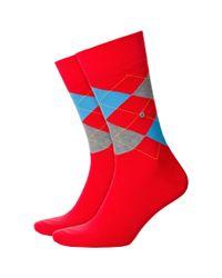 Smythson - Multicolor King Size Argyle Socks for Men - Lyst