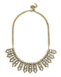 BaubleBar | Metallic Genevieve Collar | Lyst