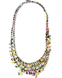 Tom Binns - Multicolor 'splash Out' Layered Necklace - Lyst
