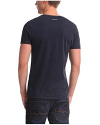 BOSS Orange - Blue T-shirt 'tiberion' In Cotton for Men - Lyst