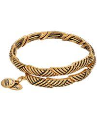 ALEX AND ANI | Metallic Rolling Hills Wrap Bracelet | Lyst