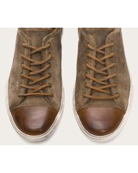 Frye - Brown Chambers Cap Low for Men - Lyst