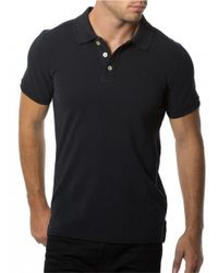7 Diamonds | Black Classic Polo for Men | Lyst