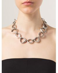 Vaubel | Metallic Linked Ring Necklace | Lyst