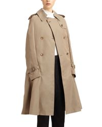 Junya Watanabe - Natural Trench Cape - Lyst