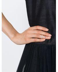Elise Dray | Metallic Snake Pinkie Ring | Lyst