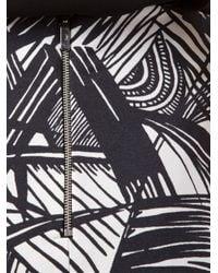 Elizabeth and James | Black Palm Print Sleeveless Dress | Lyst