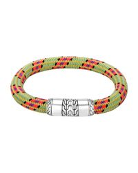 John Hardy | Men's Classic Chain Multicolor Cord Bracelet for Men | Lyst