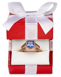 Le Vian | Pink Blueberry Tanzanite (2 Ct. T.w.) And Diamond (3/8 Ct. T.w.) Ring In 14k Strawberry Rose Gold | Lyst