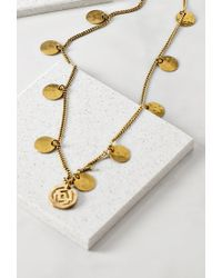 Forever 21 - Metallic Soko Looping Coin Necklace - Lyst