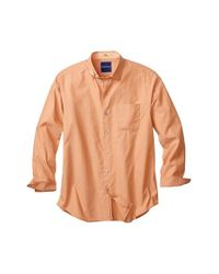 Tommy Bahama | Orange S 'dobby Del Sol' Sport Shirt for Men | Lyst