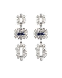 Alexis Bittar | Metallic Framed Baguette Tiered Post Earring You Might Also Like | Lyst