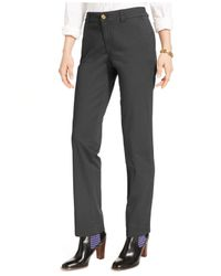 Tommy Hilfiger | Blue Straight-leg Chino Pants | Lyst