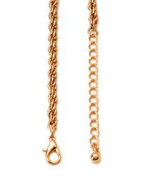 Forever 21 | Metallic Venetian Chain Fringe Necklace | Lyst
