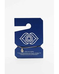 Urban Outfitters - Metallic Third Eye Chakra Charm Bracelet In Gold - Lyst
