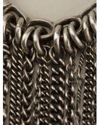 Ann Demeulemeester - Metallic Chain Detail Ring - Lyst