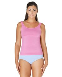 Yummie By Heather Thomson - Pink Stephanie Reversible Shaping Tank - Lyst
