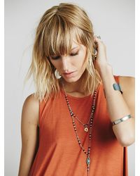 Free People - Red Lalelei Tunic - Lyst