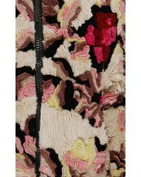 Marni | Black Pimpernel Blossom Jacquard Double Breasted Coat | Lyst