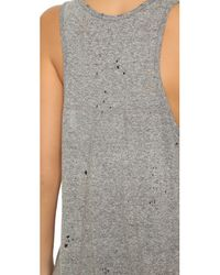 RTA - Gray Allison Tank - Heather Grey - Lyst