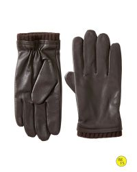 Banana Republic | Brown Factory Leather Gloves for Men | Lyst