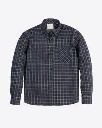 Billy Reid | Blue Walland Shirt for Men | Lyst
