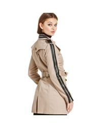 W118 by Walter Baker   Natural Ollie Trench Coat   Lyst