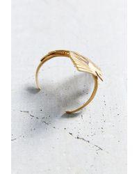 Urban Renewal - Metallic Torchlight Brass Thunderbird Cuff - Lyst