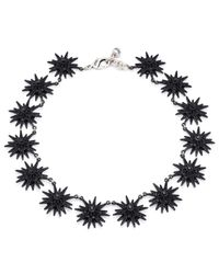 Lulu Frost | Radiant Necklace - Black | Lyst