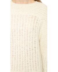 IRO - Natural Selena Sweater Dress Ecru - Lyst
