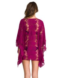 Pilyq | Red Moroccan Monique Tunic in Wine | Lyst