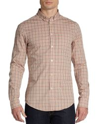 Ben Sherman - Multicolor Slim-fit Plaid Sportshirt for Men - Lyst