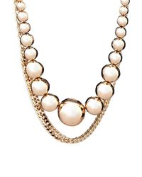 Max Mara | Metallic Florida Necklace | Lyst
