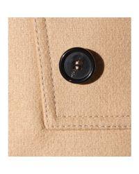 Givenchy - Natural Wool Coat - Lyst