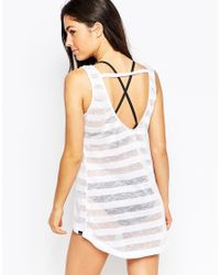 Oakley | White Beach Vest Dress | Lyst